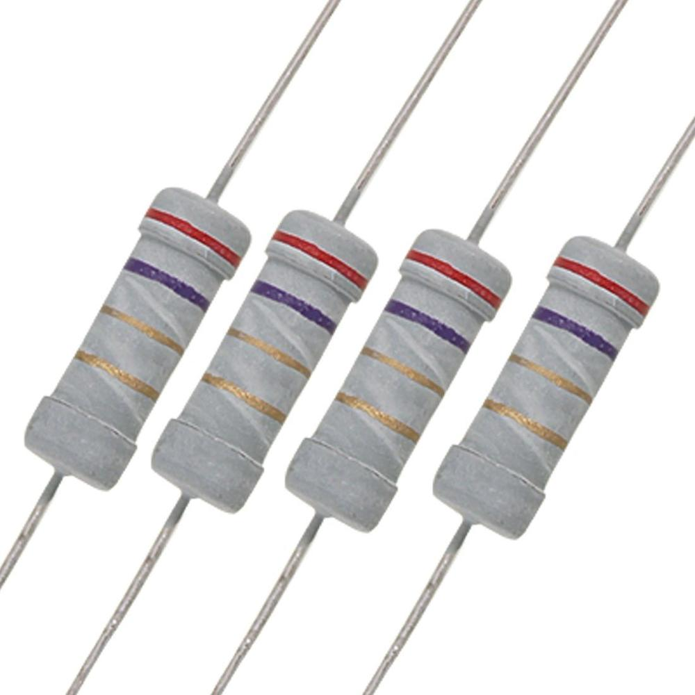 290pcs Resistor Kit 1W Watt 29values X 10pcs Resistencias Resistor Pack Carbon Film Resistance 1-100 Ohm OHM 1-W Carbon Film Set