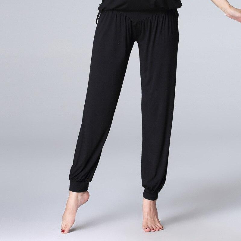 Summer Dance Trousers Women's Adult Training Lantern Loose Wide Leg Pants Body Modern Dancing Clothes