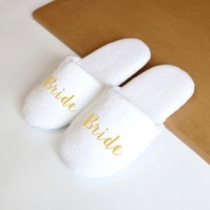 Bride &Squad Slippers Wedding