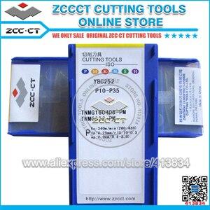 Image 3 - 50pcs ZCC TNMG160408 PM YBC252 TNMG 160408 PM ZCCCT 초경합금 CNC 인서트 TNMG160408 PM 절삭 공구 커터