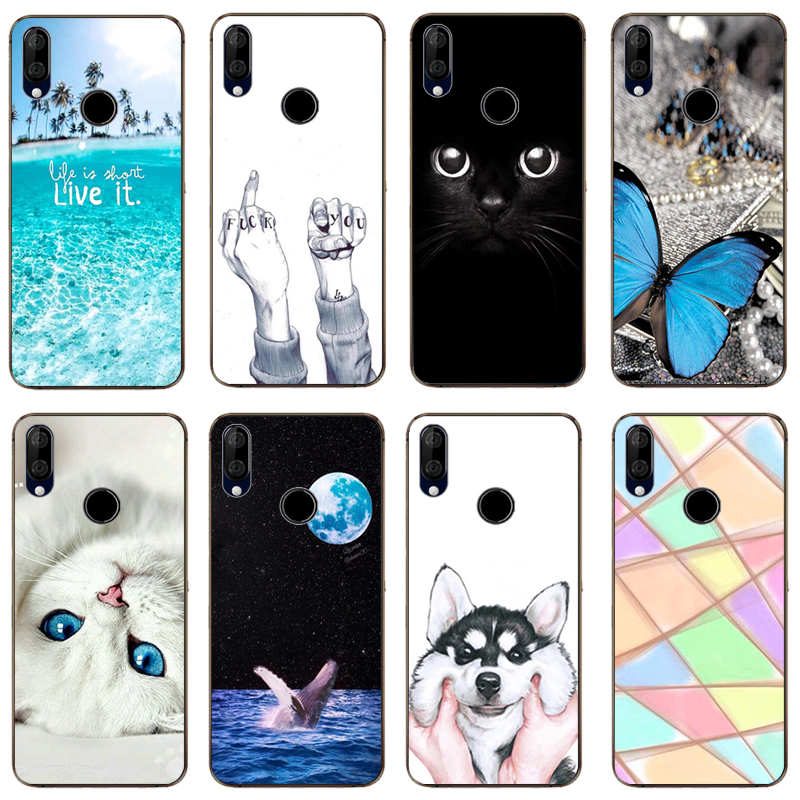 Back Soft Silicone Marble Phone Covers for Wiko View 3 Lite Mobile Phone Cases for Wiko View 3 Pro Bags for Wiko View 3
