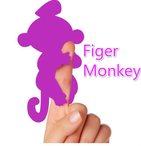 Interactive Finger Monkey Baby Sloth Toy Happy Monkey Pack Puppet Rose Unicorn  Electronic  Pet Game Kid Children Dropshipping