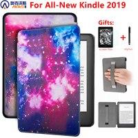 Magnetische Cover Case Voor Amazon Nieuwe Kindle 10th Generatie 2019 6 Inch E Reader Cover Voor Kindle 2019 Case met Hand Holder + Gift|ereader cover|smart coverereader case -