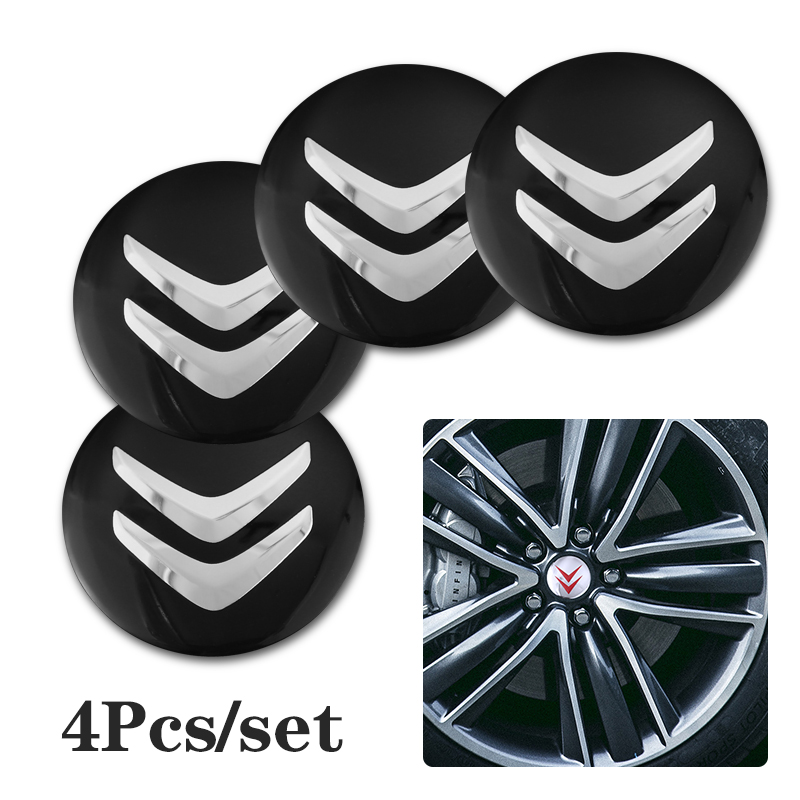 4 шт. Центральная втулка колеса автомобиля крышки эмблемы наклейка крышка рулевого колеса для Citroen C1 C2 C3 C4 C5 C6 C8 Picasso кактус СДС Aircross C3-XR