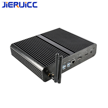 Nouveauté Intel Core i7 7560U Intel Kaby lac ult Mini ordinateur sans ventilateur gagner 10 4K HTPC Intel HD graphiques