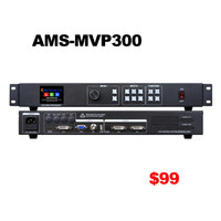 MVP300 video controller with audio & video sync out like vdwall lvp100 support 1920*1080 pixels led wall display video processor