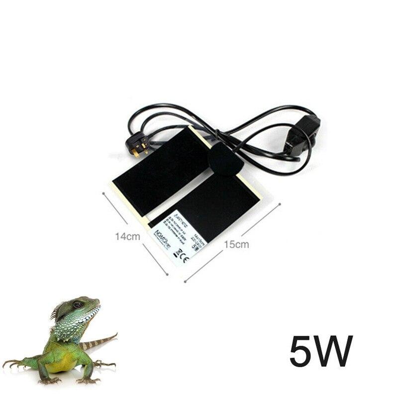 1 шт. для вивария для рептилий нагревательный коврик нагревательный теплый обогреватель с термостатом контроллер подогреваемый коврик акв...
