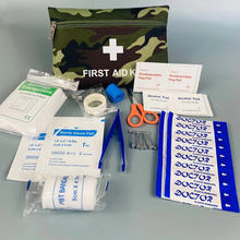 12 Items/35 pcs Camping Emergency kits Outdoor Survival bags Home medical First Aid Kit mini Car First Aid bag