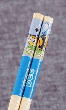 Купить 5 пар детских палочек для еды японские палочки бамбуковые студенческие картинки цена
