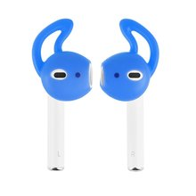 New for Apple AirPods Replacement Soft Silicone Antislip Ear Cover Hook Earphone Earbuds Tips Headset Case protector For earpods 1 pairs airpods earphone case cover silicone antislip ear hook earbuds tips caps for iphone earpads earpods eartips
