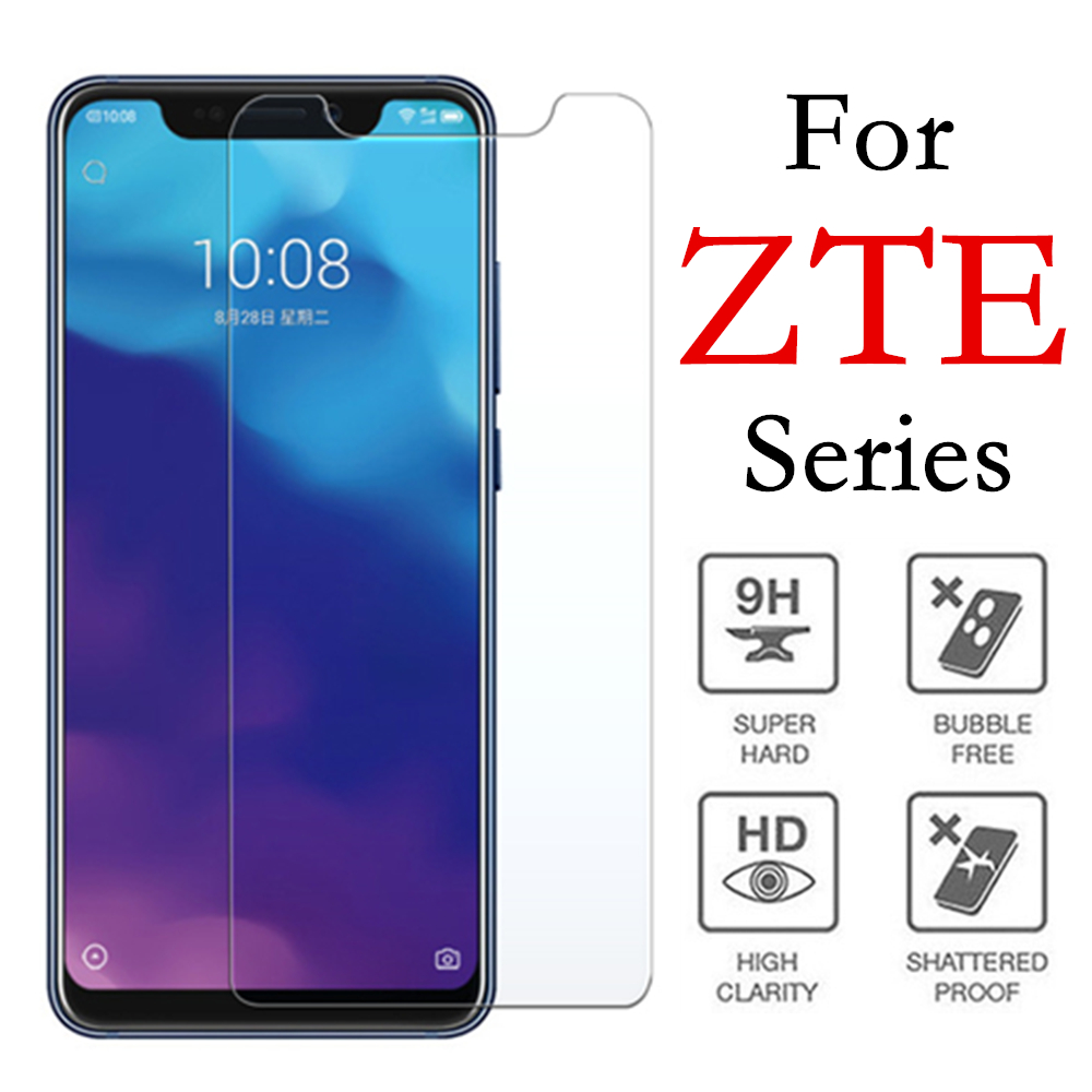 Axon 9 pro protective glass on the for zte blade a6 a610 tempered glas a601 a510 screen protector a 601 610 6 510 9pro 6a film
