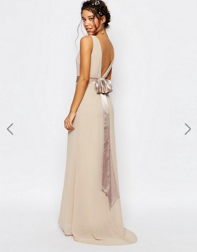 Bridesmaid Dress 2019 New Style Korean-style Long Debutante Large Size Slimming Evening Gown Women's Sisters Skirt Party Dress A
