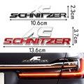 Металлическая 3d-наклейка с эмблемой для заднего багажника, наклейка, наклейка, отделка, передний капот, гриль для BMW AC Schnitzer M 3 5 6 Z E E46 E39 E36 E34 X1 ...