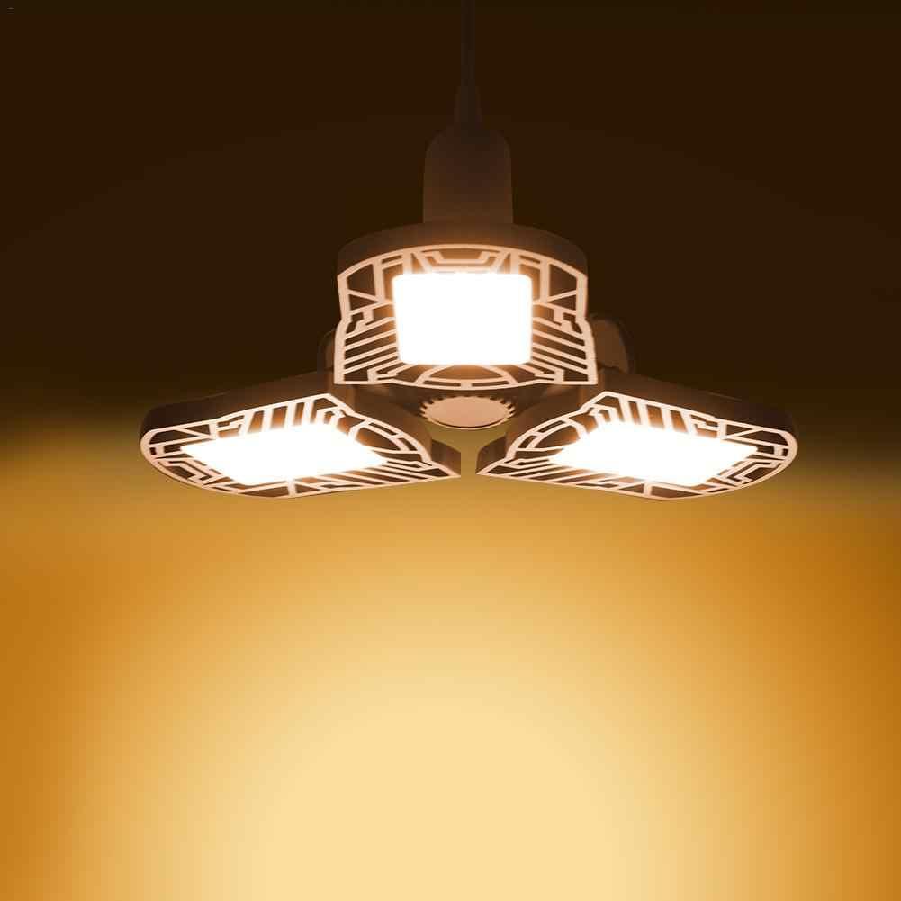 2020 Новый 80 Вт/8000лм светодиодный регулируемый три света гаражная лампа высокий свет залива НЛО мастерская парковочная лампа для склада 85-265 в E27/E26