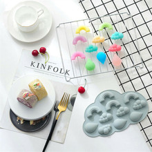 3D Silicone Ice Cube Mold Fondant Mould Cake Mold Chocolate Baking Sugar Craft Decorating Tool L0904 стоимость