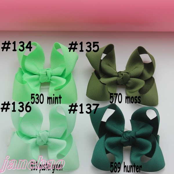 250 шт. 3 ''модный Бутик банты для волос для малышей банты для волос ABC заколки для волос аксессуары для волос