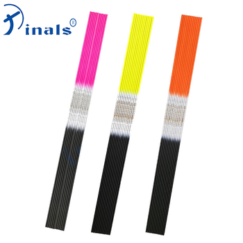 Inals Archery Spine 500 600 700 800 900 1000 Carbon Arrow Shaft ID 4.2mm 30inch Recurve Bow Longbow Shooting Hunting12PCS