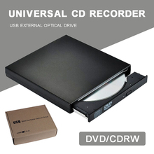 Burner Writer-Player Notebook Cd-Recorder Desktop Slim DVD/CD Portable USB Pohiks Usb-3.0