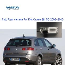 Yessun widok z tyłu samochodu kamera HD Night Vision kamera cofania IP67 DC 12V dla Fiat Croma 2th 5D 2005 ~ 2010 w Kamery pojazdowe od Samochody i motocykle na