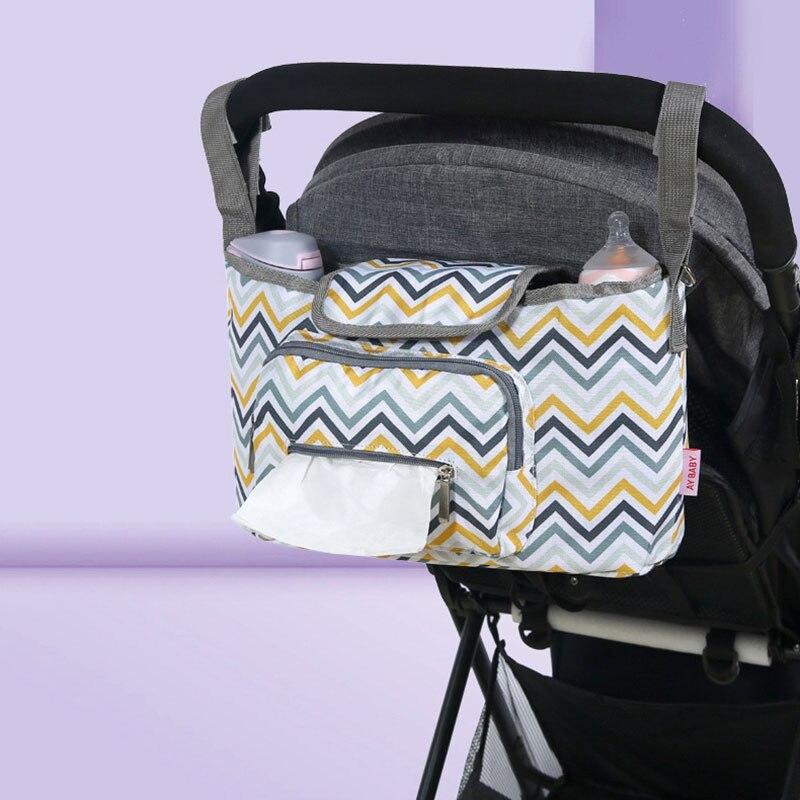 Baby Stroller Organizer Bag Waterproof Roomy Diaper Bag Pram Buggy Cart Hanging Mummy Bag Stroller Accessories Baby Bags For Mom|Strollers Accessories|   - AliExpress