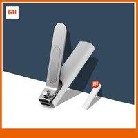Xiaomi Mijia Nagel Clippers Anti-splash Nagel Clippers Edelstahl frustration Design Tragbare Mit abdeckung Trimmer Pediküre