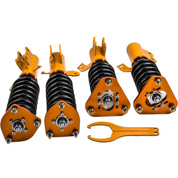4pcs Coilover Suspension  for Toyota Celica 1990 1991 1992 1993 Shock Absorbers Coil Struts Kit Adjustable Height
