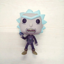 цена на ick And Morty Prison Break Rick 339 TV Movie Model Character Vinyl Doll Action Figure Collection Gifts Finished Goods No Box