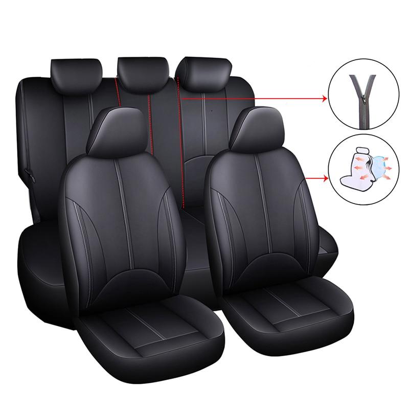 SUZUKI IGNIS FRONT /& REAR CAR FULL SET SEAT COVERS CLOTH BLACK 00-08
