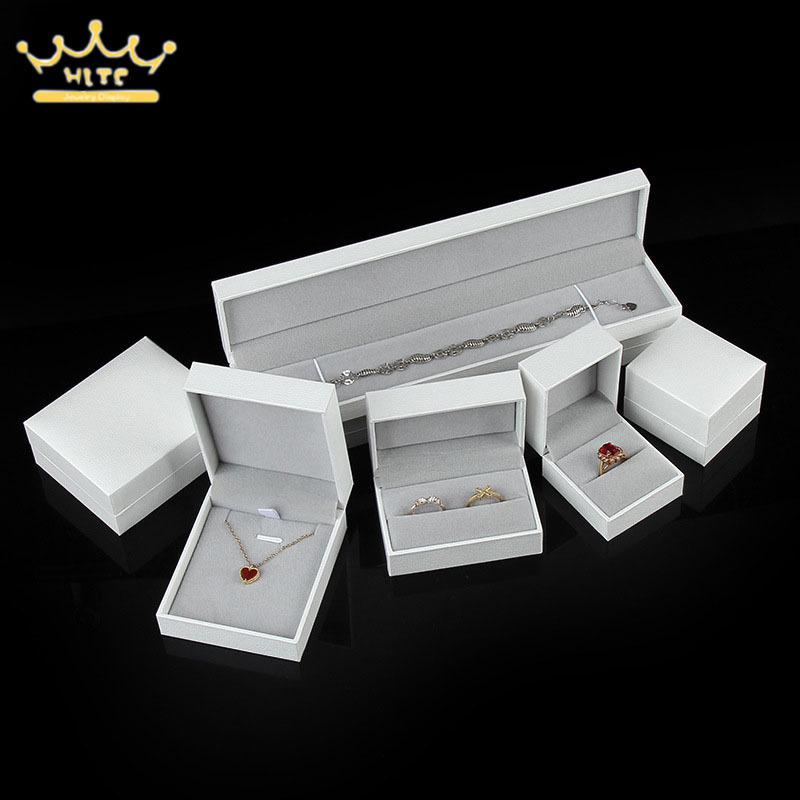 Jewelry Box Engagement Wedding Anniversary Bracelet Box Ring Container Necklace Holder Jewelry Display Gift Boxes