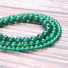 Hot Sale Natural Stone Green agate Beads 15.5 Pick Size: 4 6 8 10 mm fit Diy Charms Beads Jewelry Making Accessories