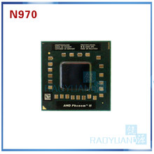 Amd phenom ii quad-core móvel n970 2.2 ghz quad-core quad-thread processador cpu hmn970dcr42gm soquete s1