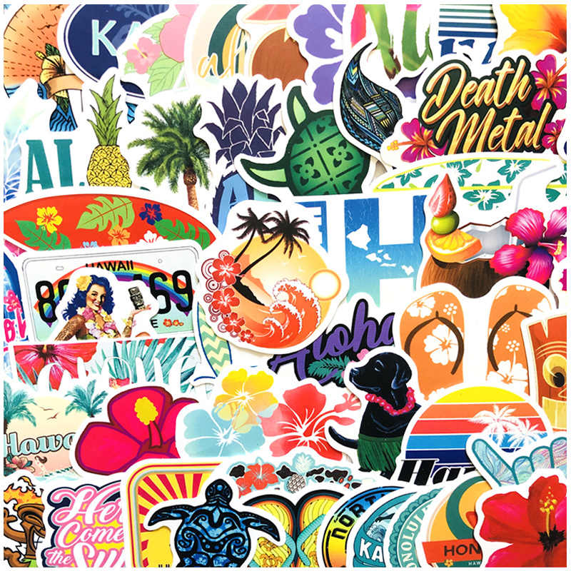 50Pcs Retro Travel Sticker Outdoor Adventure Gemengde Stickers Voor Motorfiets Skateboards Laptop Bagage Sticker Decals
