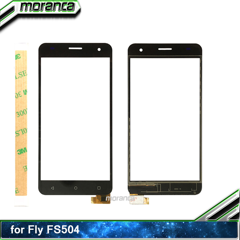 5.0'' Phone Touch for <font><b>Fly</b></font> FS504 <font><b>FS</b></font> <font><b>504</b></font> Cirrus 2 Touch Screen Digitizer Sensor Touchscreen Panel Front Glass Lens +3M Sticker image
