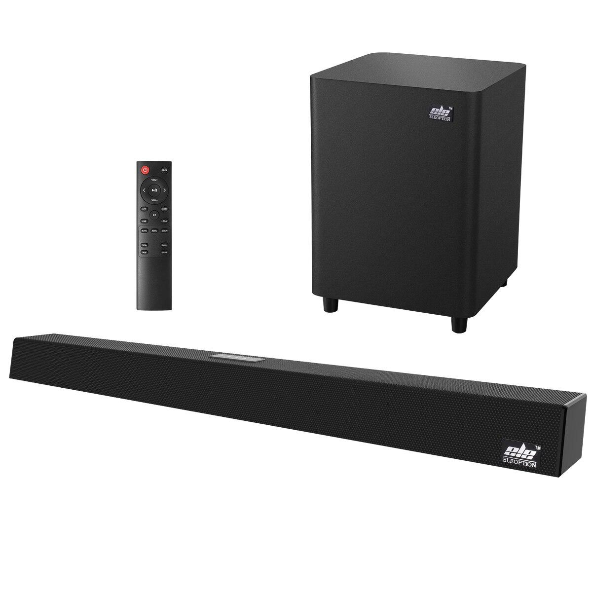 120W Home cinéma système de son barre de son 2.1 TV Bluetooth haut-parleur soutien optique AUX Coaxial barre de son Subwoofer haut-parleurs pour TV