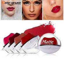 12 Colors Sexy Red Lip Lazy Lipstick Waterproof Matte Lipstick Long Lasting