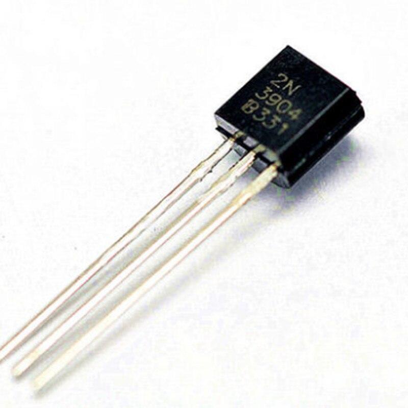 100 шт. 2N3904 TO-92 TO92 NPN транзистор общего назначения, Новинка