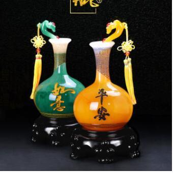 1 pairs vases wine ark puts out originality decoration household TV ark lives in sitting room porch ruyi vase new house gift