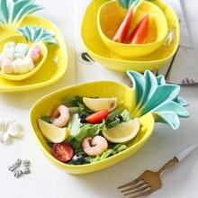 Форма ананаса кактус керамическая тарелка для салата фруктовые