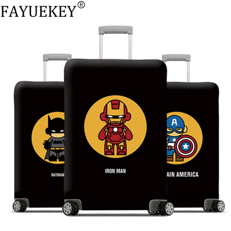2019 Avenger Luggage Cover Suitcase Protective Covers Elastic Baggage Cover Stretch Travel Case Cover Travel Accessories