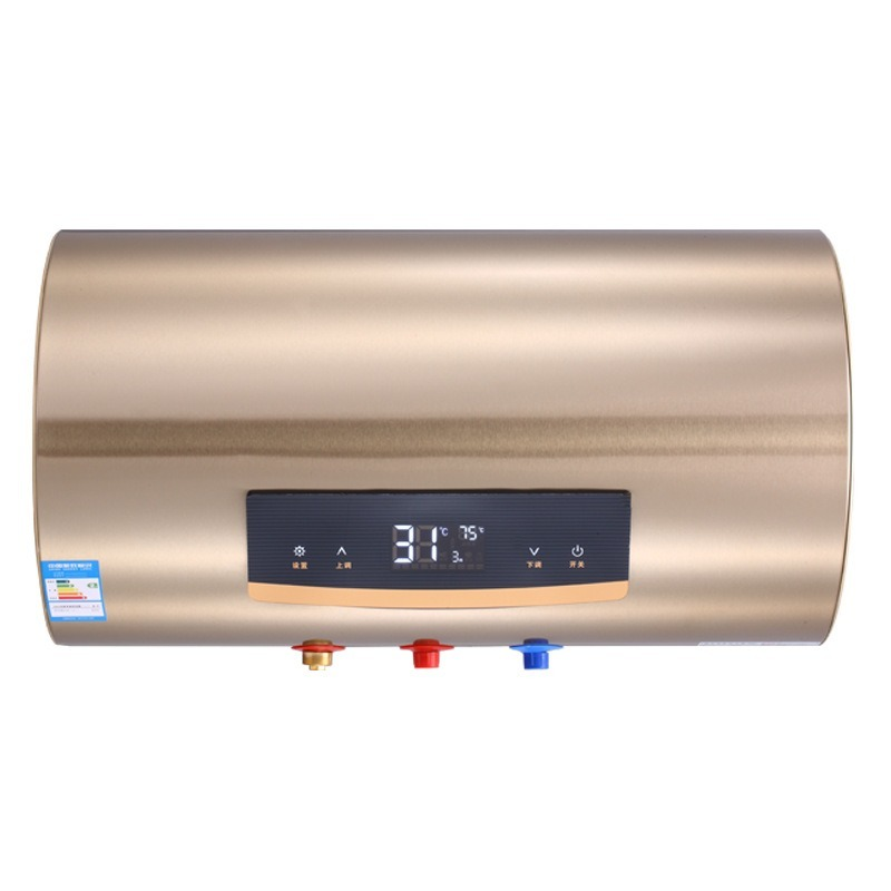 Household Electric Water Heater Intelligent Remote Control Touch Water Heater Energy Saving Speed Hot Color Steel Shell New