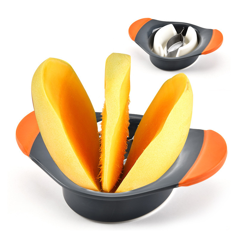 Manufacturers Direct Selling Stainless Steel Mango Cutter Mango Splitter Cut Mango Kitchen Creative Cut Fruit Small Tools