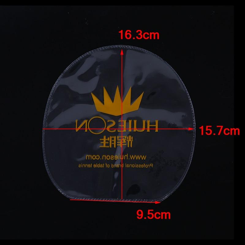4pcs Table Tennis Racket Rubber Protective Film Transparent Protective Film Table Tennis Supplies