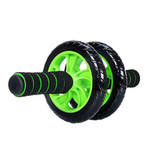 Sport No Noise Abdominal Ab Wheel Muscle Trainer Gymnastic Roller With Mat Press For Exercise Fitness Machine Workout