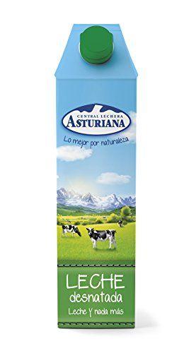 Central Lechera Asturiana - Leche UHT Desnatada - 1 L