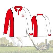 Tops Polo-Shirt Golf-Cloth Mens New Breathable Customize Team-Uniform Long-Sleeve Outdoor