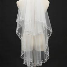 Новинка; свадебная вуаль ручной работы с бисером; свадебное платье головной убор; мягкая пряжа; модные аксессуары; многослойные
