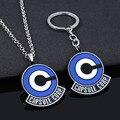 SG мультфильм чехол CAPSULE CORP Логотип, брелки для ключей, милые на возраст от 1 до 7 лет дизайн со звездами металлический подвесной брелок Для муж...