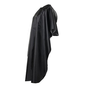 Image 3 - Black Hairdressing Cape Professional Hair Cut Salon Barber Cloth Wrap Protect Gown Apron Waterproof Cutting Gown Hair Cloth Wrap