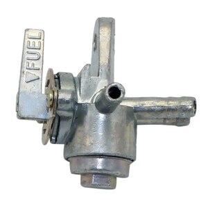 Image 1 - 3 ходовой топливный клапан Petcock 3 портовый топливный клапан Petcock выключенный переключатель для мотоцикла ATV Dirt Bike и т. д. наружный диаметр отверстия 0,24 дюйма