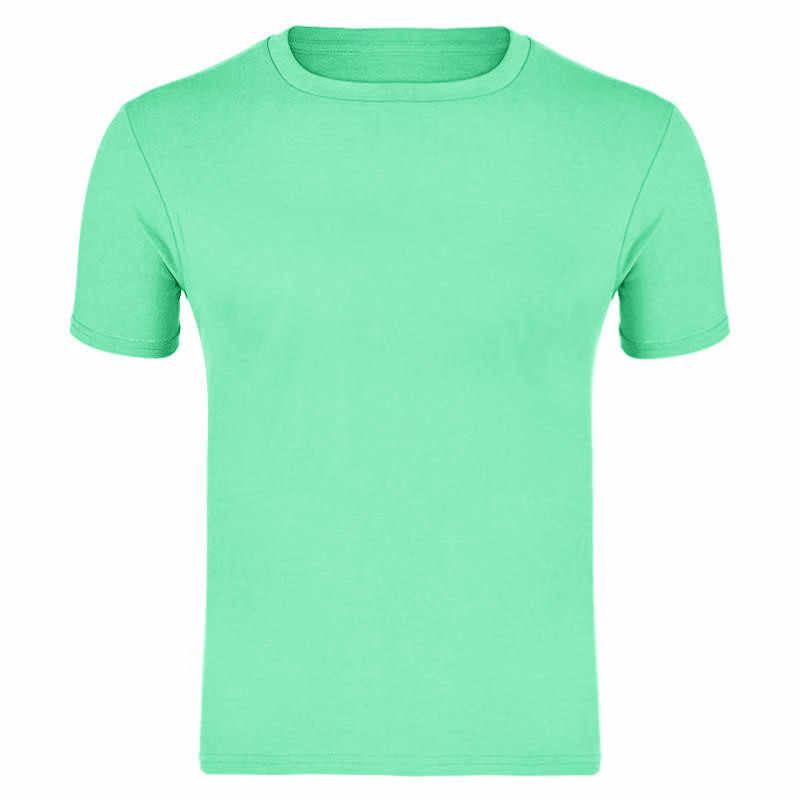 2019 nieuwe mode dans mannen t-shirt katoen effen kleur T-shirt zomer hoge kwaliteit mode shirt Tee mannen